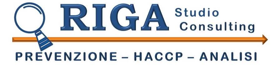 Studio RIGA Consulenza HACCP in Romagna a Cesena Forlì Rimini Ravenna Faenza Imola